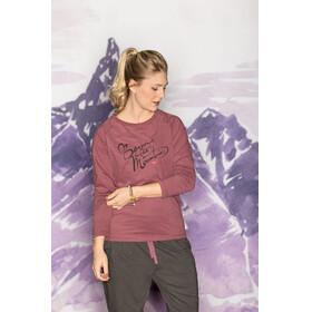 Maloja NotoddenM. - Camiseta de manga larga Mujer - rosa